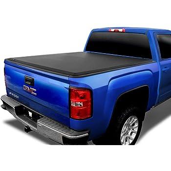 Tyger Auto T3 Soft Tri-Fold Truck Bed Tonneau Cover for 2014-2019 Chevy Silverado/GMC Sierra 1500; 2015-2019 2500 HD 3500 HD 2019 Classic ONLY Fleetside 6.5' Bed TG-BC3C1007