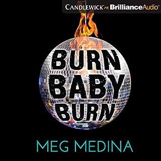 Burn Baby Burn audiobook cover art