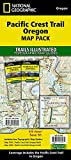Pacific Crest Trail: Oregon [Map Pack Bundle] (National Geographic Trails Illustrated Map)