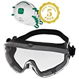 Safety Goggles Over Prescription Glasses Clear Anti Fog Safety Glasses Eye Protection For Chemistry...