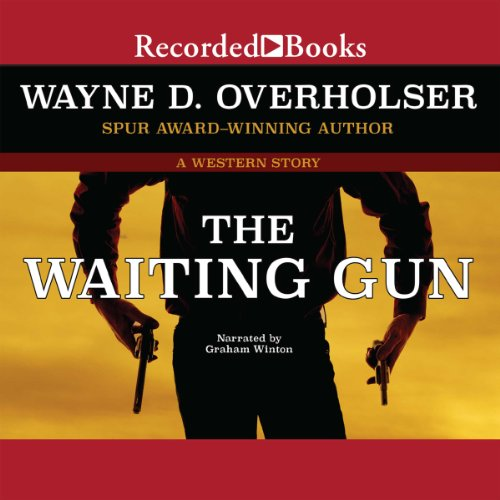 The Waiting Gun audiobook cover art