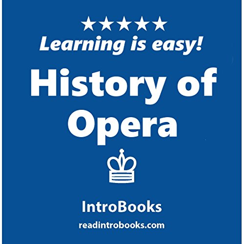 History of Opera audiobook cover art