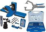 Kreg 720PRO Pocket Hole Jig with SK03 Pocket Hole Screw Kit & KHC3 Automaxx 3