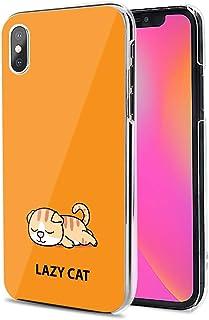 Huawei P40 Pro 5G ケース カバー スマホケース ハード TPU 素材 おしゃれ かわいい 耐衝撃 花柄 人気 全機種対応 怠惰な猫01 アニメ アニマル かわいい 9796825