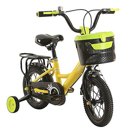 Hanbei Bicicleta para niños, Bicicleta para niños y niñas, con Ruedas de...