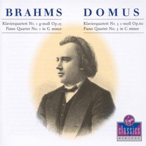 Klavierquartette Nr. 1 g-moll, op.25 + Nr. 3 c-moll, op.60