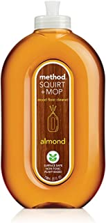 Method Squirt and Mop Wood Floor Cleaner, Almond, 739ml