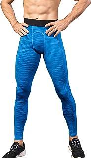 DaobaMEN Uomo Workout Leggings 3D Running Exercise Tight Bodybuilding Sport Pantaloni