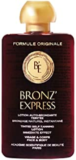 Académie Scientifique De Beauté - Bronz'Express - Lotion Auto-Bronzante Teintée VisÂge Et Corps - 100 ml.