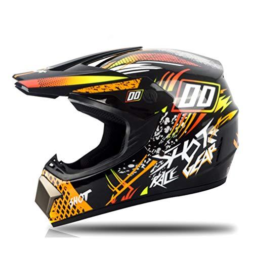 Casco de motocross con gafas Off Road Motocicleta Casco de motocross para adultos ATV Dirt Bike Downhill MTB DH Racing Casco Cross Helmet