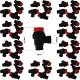 KG-Part - Válvula de seguridad para calderas Vaillant Turbotec, ecoTEC, VU, VUI, VUW, 178985 (50 piezas)