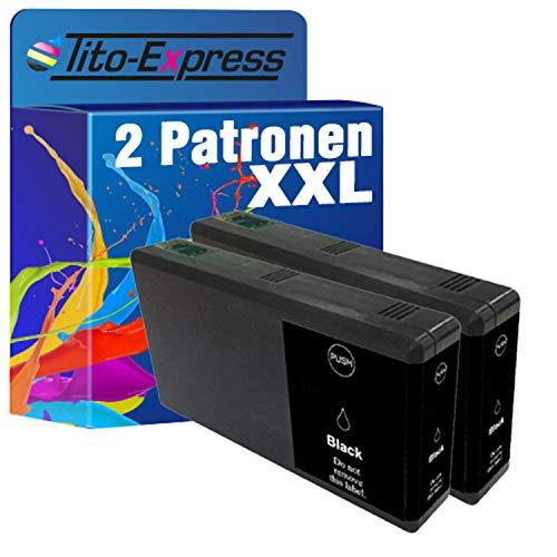 Tito-Express PlatinumSerie - 2 cartuchos de tinta XXL compatibles con Epson TE7891 negro, aptos para Workforce Pro WF-5100 Series WF-5110 DW WF-5190 DW WF-5600 Series WF-5620 DWF WF-5690 DWF