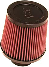K&N Universal Clamp-On Engine Air Filter: Washable and Reusable: Round Tapered; 2.75 in (70 mm) Flange ID; 5.5 in (140 mm) Height; 6 in (152 mm) Base; 5 in (127 mm) Top , RU-4960XD