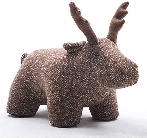 Cylficl Cuero, Regalos de cumpleaños Animales heces de Vacaciones Escabel Creativo Elk heces de Zapatos Habitación Sala de Niños de Dibujos Animados