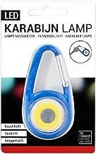 Verhaak - zaklamp Karabijn led staal blauw - Blauw