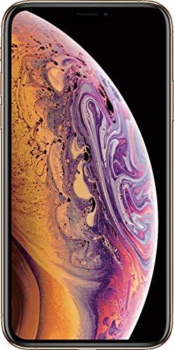 Apple iPhone XS Max, Fully Unlocked, 64 GB - Gold (Renewed)