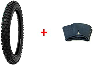MMG Combo Off Road Knobby Tire Size 2.50-14 and Inner Tube Size 2.50-14 TR4 Valve Stem