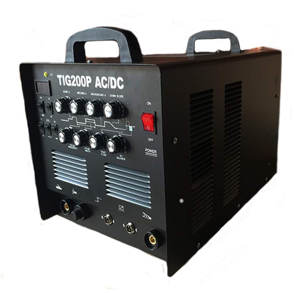 転倒魅力アクロバットTIG200P TIG溶接機 交流 直流 AC/DC 切替式 インバーター TIG 溶接機 アルミ溶接 パルス溶接 アルミOK! 高機能本格モデル 半年保証付き!