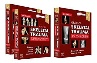 Skeletal Trauma (2-Volume) and Green's Skeletal Trauma in Children Package, 6e (032370865X) | Amazon price tracker / tracking, Amazon price history charts, Amazon price watches, Amazon price drop alerts