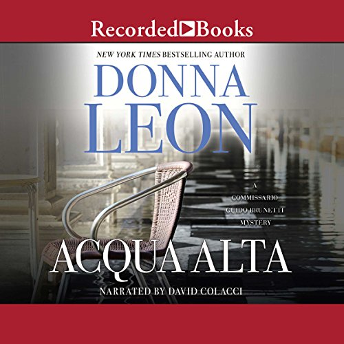 Acqua Alta audiobook cover art