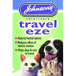 Travel-Eze Dog Travel Sickness Tablets – Johnson's (TP)(JTST)