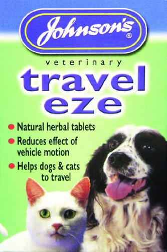 Travel-Eze Dog Travel Sickness Tablets - Johnson's (TP)(JTST)