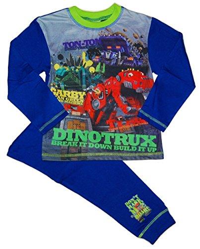 Dinotrux Dinosaurier Trucks Jungen-Nachtwäsche Schlafanzug 9-10 Jahre