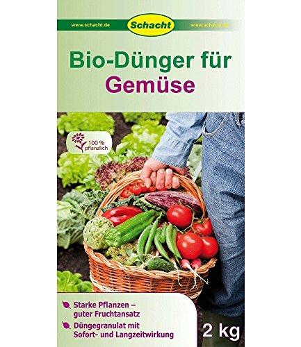 SCHACHT BIO Dünger Gemüse