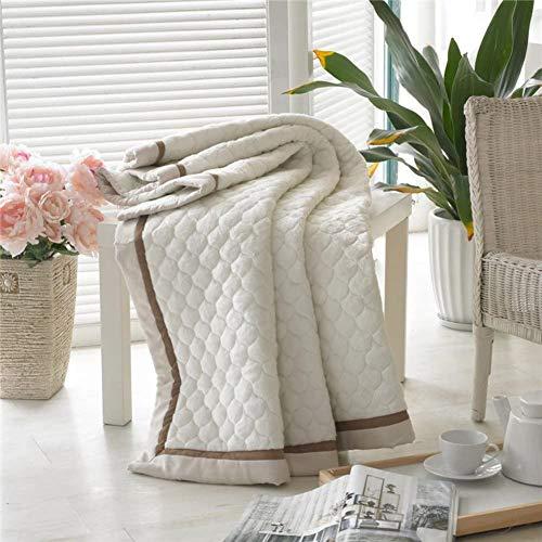 ZXYY velvet superzachte matras topper dunne matras draagbaar inklapbaar wasbaar Queen King flanel dunne beddengoed-A 120x200cm (47x79inch)