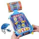 TFACR Mini Juego de Pinball de Mesa - Juego de Juguete Interactivo de Carga para niños Adultos, Regalo del Festival de cumpleaños