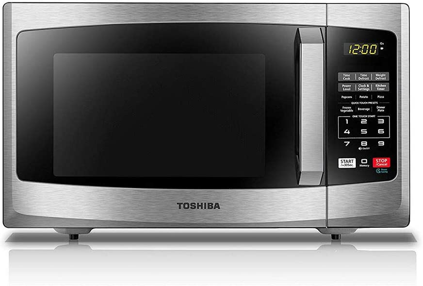 Microwave with Large Display