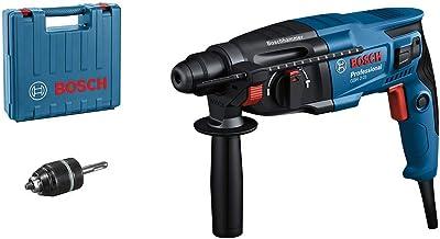 Bosch Professional boorhamer GBH 2-21 (met SDS plus, incl. snelspanboorhouder, extra handgreep, machinedoek, diepteaansla...