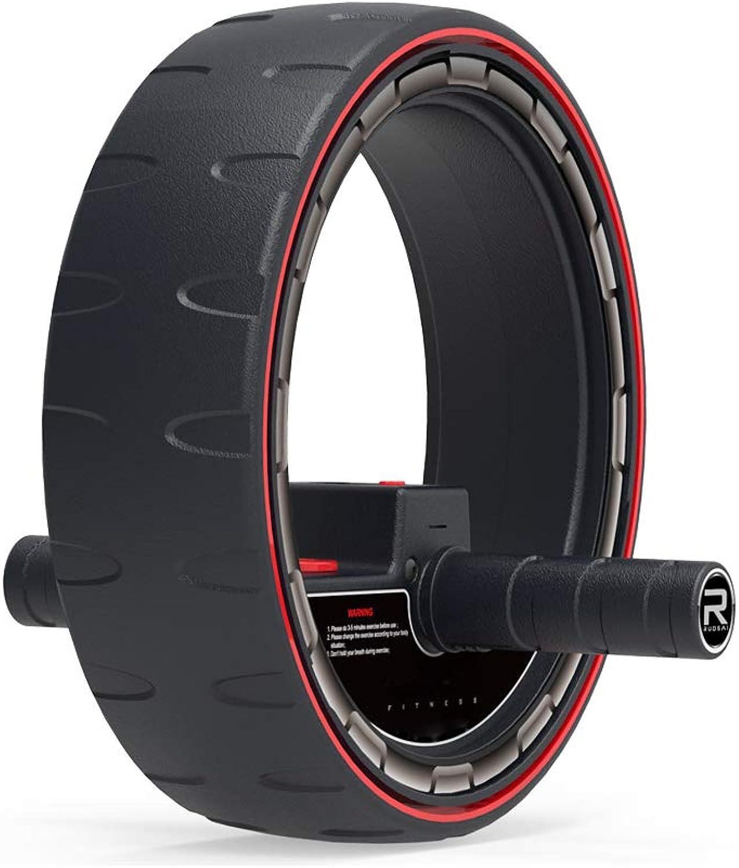 FZYQY Multifunktions-Bauch-Rad, Home Bauchmuskel-Rad Fitness Rad Roller Stummschaltung, Multifunktionale Abnehmen Bauch Bauch Fettabbau