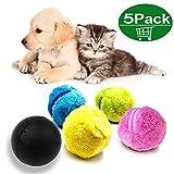 XUNKE Magic Roller Ball Juguete automático Bola de Bolas mágicas para Perro Gato Mascota...