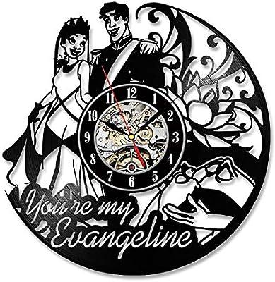 Naruto parte dibujos animados decorativa vinilo pared Reloj ...