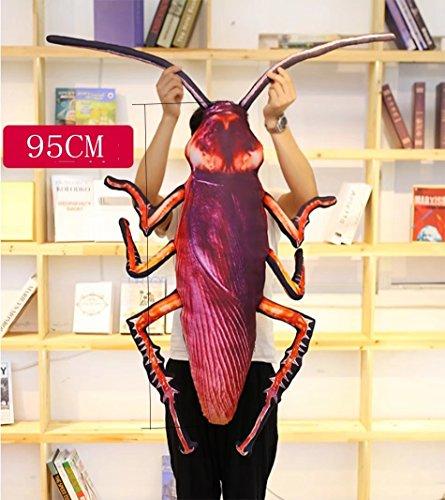 Pillow-MAIKA HOME Cojín/cojín/Almohada de Las cucarachas de la simulación (tamaño: el 95CM)