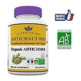 Artichaut Bio - 90 gélules -Nutricite Bio- Detox naturel – 100% Bio et Fabriqué en France...
