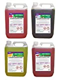 FRESH 365 Pet Kennel Disinfectant And Deodoriser, Mixed Fragrances, 5 Litre, Pack of 4