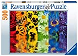 Ravensburger 16446 Floral Reflections 500 Piece Puzzle for Adults - Every Piece is Unique, Softclick Technology Means Pieces Fit Together Perfectly
