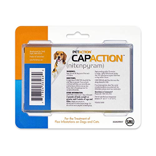 CapAction Oral Flea Treatment Small Dog, 6ct Arizona