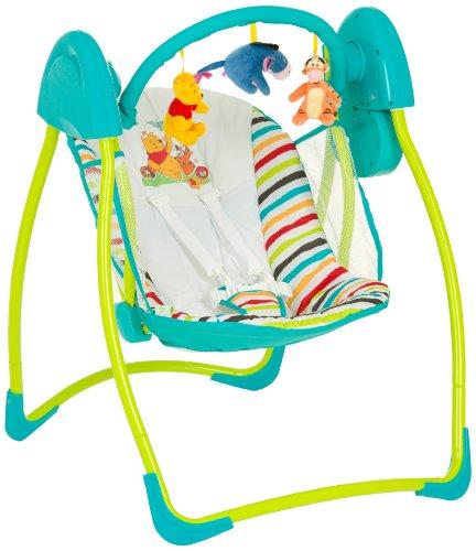 Hauck Swing Pooh Babyschaukel, Spielbogen, Disneydesign, inkl. Musik, Licht