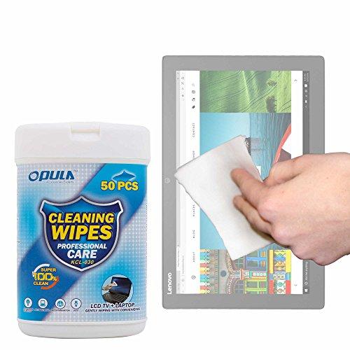 DURAGADGET Toallitas Especiales para Limpiar La Pantalla De Tablet ASUS Transformer Pro T304, ZenPad 3S 10 LTE/DELL Latitude 5285, 5825, 7285 / Lenovo Miix 720, X1 Tablet (2017), Yoga Book 12.2'
