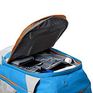 51nVF+b8AgL. SS300  - AmazonBasics - Mochila ergonómica (azul, 30 litros)