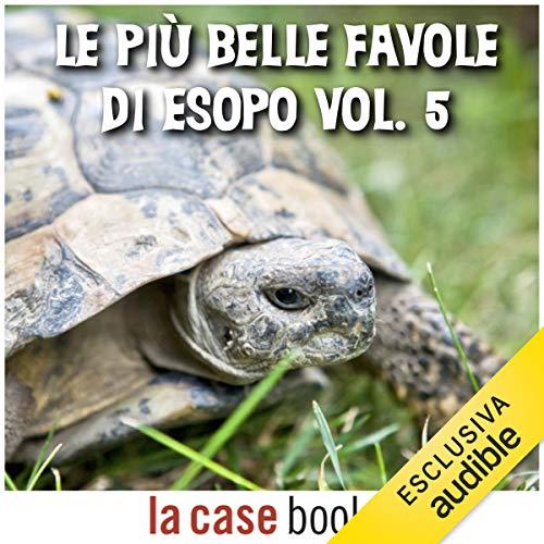 Le più belle favole di Esopo 5 copertina