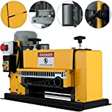 Large Wire Stripping Machine, Professional Electric Copper Stripping tool with 11 Multi-Holes Φ1.5mm to Φ38mm Heavy Duty Scrap Cable Stripper
