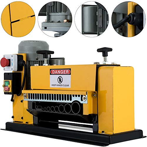 Large Wire Stripping Machine, Professional Electric Copper Stripping tool with...