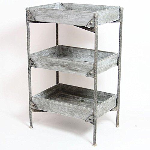 3 Tiered Storage Unit - Vintage Design by Pretty Maison