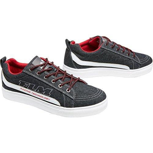 FLM - Zapato de ocio, de lona, con forro de tela suave, suela de...