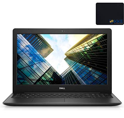 "2020 Newest Dell Inspiron 15 3000 Series Laptop, 15.6"" HD Display, 10th Gen Intel Core i5-1035G1 Processor, 16GB RAM, 512GB SSD, Webcam, HDMI, Wi-Fi, Windows 10 Home, KKE Mousepad, Black"