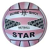 Sure Shot - Ballon de netball - Rose - Taille 4